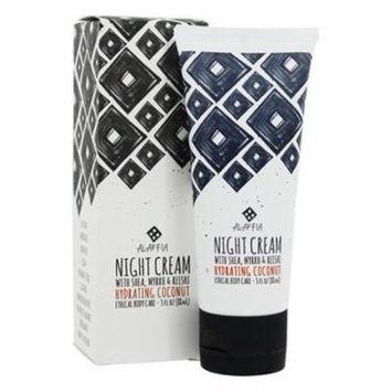 Night Cream with Shea, Myrrh & Reishi Hydrating Coconut - 3 fl. oz. by Alaffia (pack of 3)