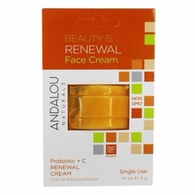 Beauty Is Renewal Face Cream Pod Probiotic + C - 0.14 oz. by Andalou Naturals (pack of 6)