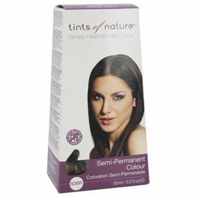 Semi-Permanent Hair Color Dark Brown - 3 fl. oz. by Tints Of Nature (pack of 2)