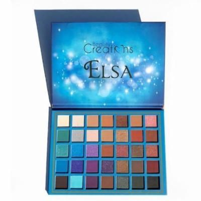 (3 Pack) BEAUTY CREATIONS 35 Color Eyeshadow Palette - Elsa