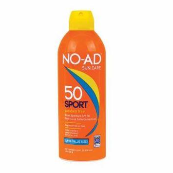 NO-AD 21603-600-DM06 Sport SPF 50 Continuous Spray Sunscreen, 10 oz