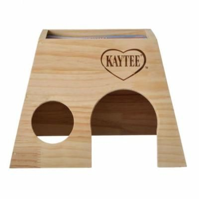 Kaytee Woodland Get A Way House Large Guinea Pig (10L x 9W x 7H) - Pack of 6