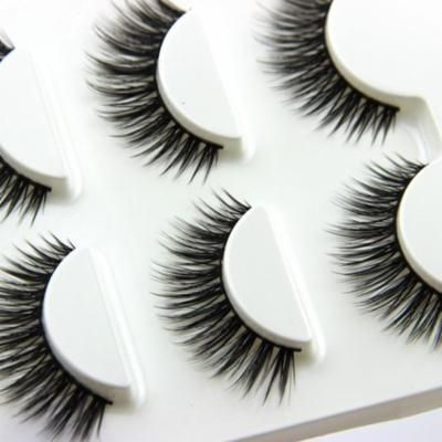 Girl12Queen 3 Pairs Beauty Fake Handmade Long Thick Eye Lash Extension 3D False Eyelashes