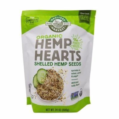 Manitoba Harvest Organic Hemp Hearts Shelled Hemp Seeds 24 OZ