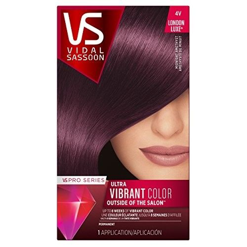 Vidal Sassoon Pro Series London Luxe Hair Color, Midnight Amethyst (Pack Of 3)