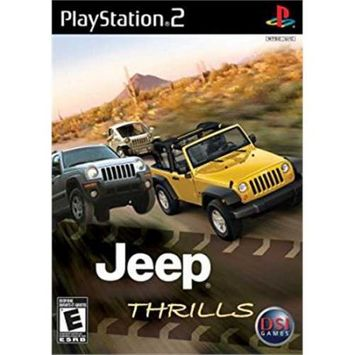 Destination Software 802068101572 Destination Software Zoo Games Jeep Thrills for PlayStation 2