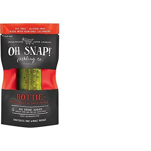 Oh Snap! Pickling Co., Hottie Whole Hot n' Spicy Pickle (12 count)