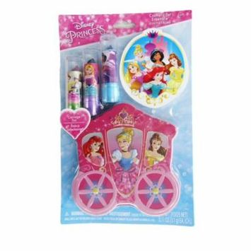Disney Girls Disney Princess Lip Balm Tin Container Cosmetic Set