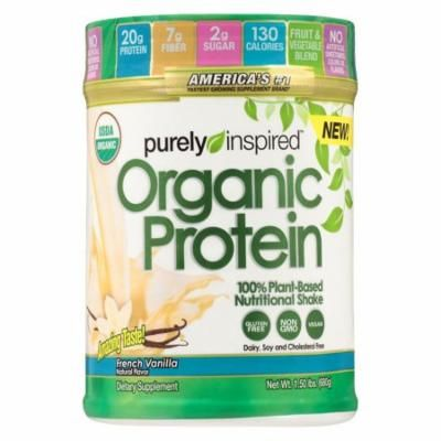 Purely Inspired 100% Plant-Based Protein Nutritional Shake French Vanilla1.5 lbs(pack of 2)
