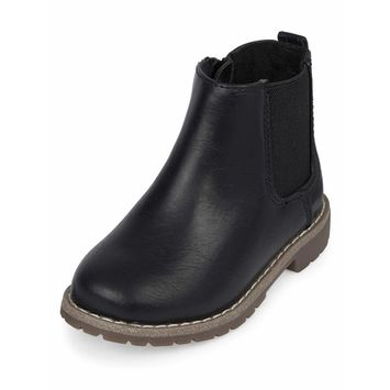 The Children's Place - The Children's Place Toddler Boys' Chelsea Boot [name: shoe_size value: shoe_size-6]