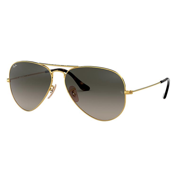 Ray-Ban Aviator Havana Collection Gold, Gray Lenses - RB3025