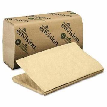 Georgia Pacific® Professional 1-Fold Paper Towel, 10-1/4 x 9-1/4, Brown