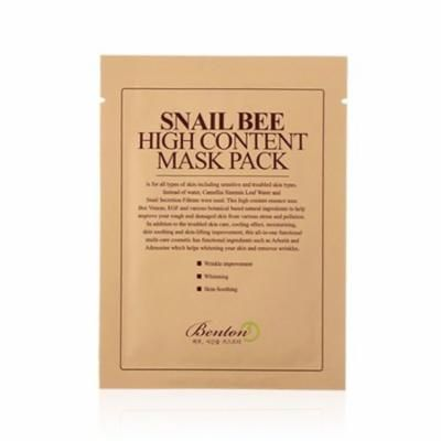 (3 Pack) BENTON Snail Bee High Content Mask Pack