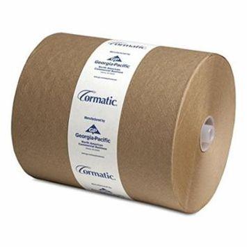 Georgia Pacific 2910P Cormatic Hardwound Paper Towels, 8.25