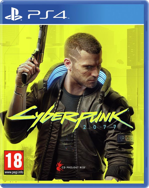 Cyberpunk 2077 (ps4) Pre-order - Released 10/12/2020 - Brand And Sealed