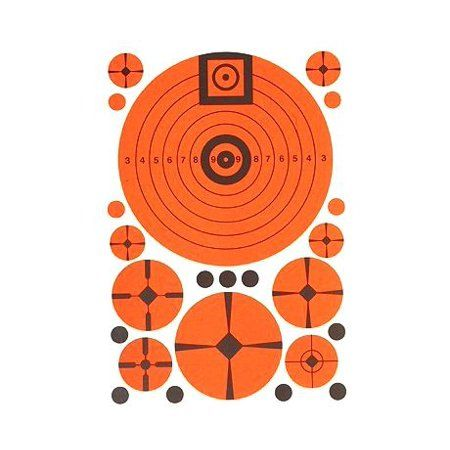 Targ-Dots Instant Targets Match Assortment Pack (10 Per Pack)