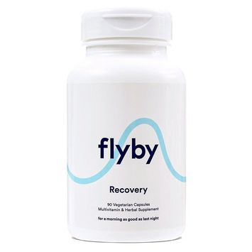 Flyby Hangover Prevention & Recovery Pills (90 Vegetarian Capsules) | Dihydromyricetin (DHM), Organic Milk Thistle, Prickly Pear, N-Acetyl-Cysteine | Certified Organic & Made in The USA