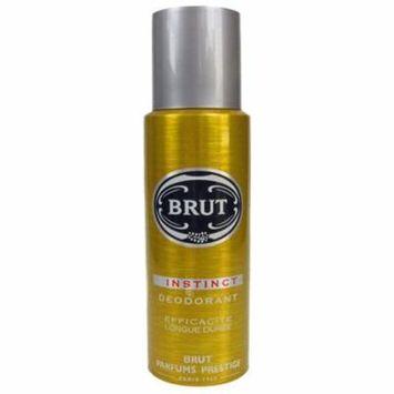 Brut Instinct Deodorant Spray for Men 6.7oz / 200ml
