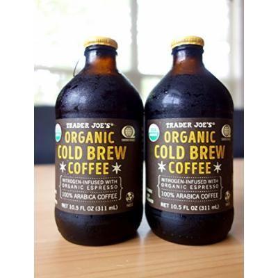 Trader Joe's Organic Cold Brew Coffee Nitrogen-Infused