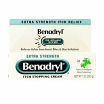 WP000-303396 303396 Benadryl Itch Relief Cream Extra Strength 1oz Per Tube From J&J Sales & Logistics Co. -# 303396