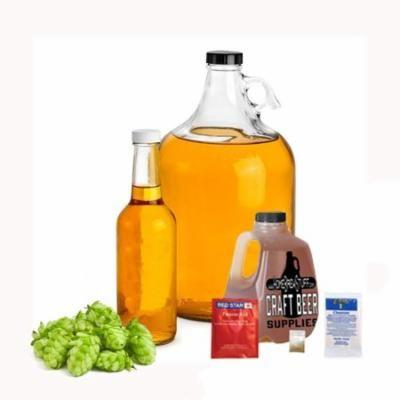 1 Gallon Cascade Hopped Honey Mead Making Refill Kit Homebrew Recipe Ingredients