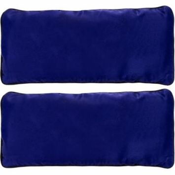 2 Pack LISH Lavender & Flax Seed Aromatherapy Yoga Eye Mask Pillow