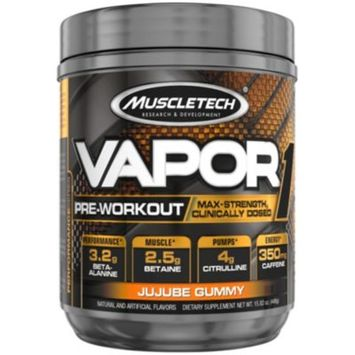 VAPOR ONE JUJUBE GUMMY 448 G (15.82 Ounces Powder) by Muscletech at the Vitamin Shoppe