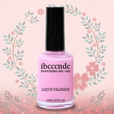 Ibcccndc 15ML Nail Art Tape Latex Easy Clean Nail Care Liquid Palisade