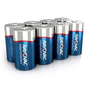 Rayovac D HIGH ENERGY™ Alkaline Batteries