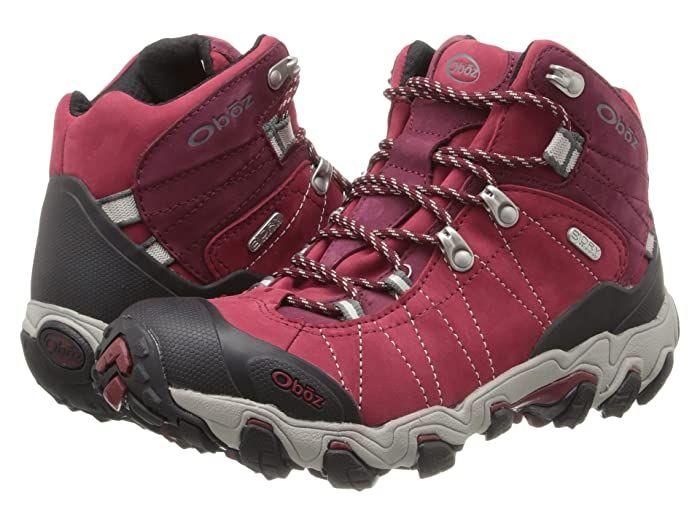 Oboz Women's Bridger Bdry Hiking Boot,Rio Red,10 M US