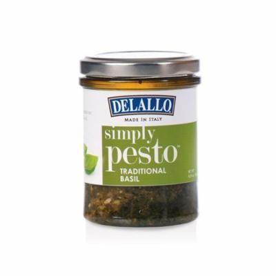 DeLallo Traditional Basil Simply Pesto Sauce (6.35 oz., 12 ct.)