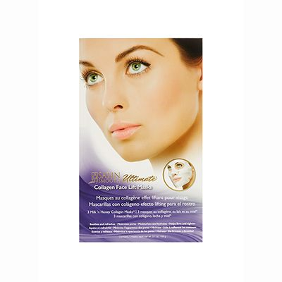 Satin Smooth Collagen Face Lift Mask 3-Pack