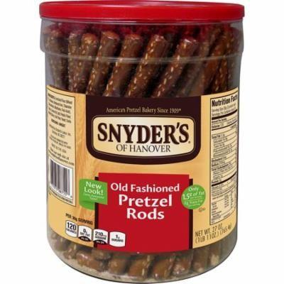 Snyder's of Hanover Old Fashioned Pretzel Rods (6 pk., 27 oz. ea.)