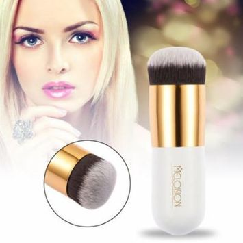 Meloision Small Size Facial Makeup Nylon Hair Foundation BB Cream Makeup Brush