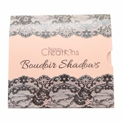 (6 Pack) BEAUTY CREATIONS Boudoir Shadows 9 Shades Eyeshadow Palette - A