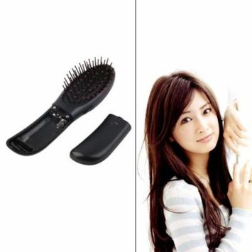 Portable Electric Head Hair Scalp Stress Relax Vibrating Massager Comb Brush