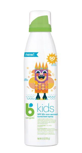 Babyganics B Kids Continuous Sunscreen Spray SPF 50 - 6oz