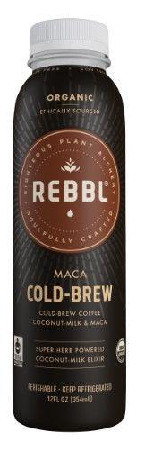 Rebbl KHFM00274565 Elixir Maca Cold Brew Organic - 12 fl oz