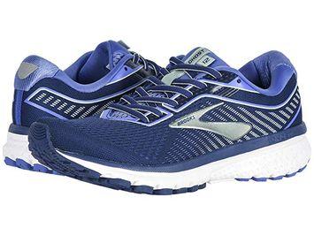 Brooks Ghost 12 Women's Running Shoes Peacoat/Blue/Aqua Size 8.5 Width AA - Narrow