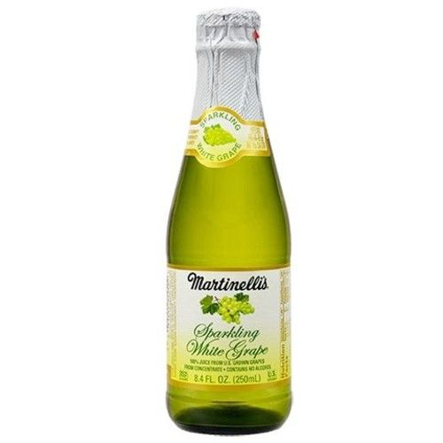 Martinelli's Sparkling White Grape Juice 8.4 oz. (Pack of 3)