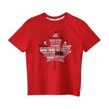 Canadiana Boys' Crew-Neck Graphic T-Shirt