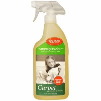 Naturally It's Clean, Carpet, Stains & Odors, 25 fl oz (pack of 6)