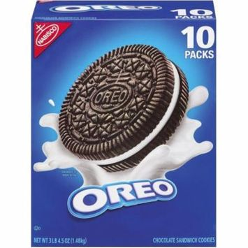 Nabisco Oreo Chocolate Sandwich Cookies - 10 pk.