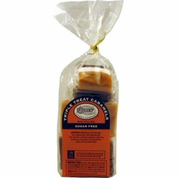 Judy's Candy Co. Sugar-Free Triple Treat Caramels 6.5 oz. package