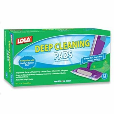 Lola Products 9011 12 Count Deep Cleaning Pad