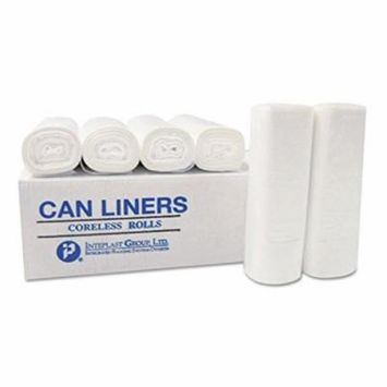 55 - 56 Gallon Clear Trash Bags 43x48 12 Mic 200 per Case (IBSS434812N)