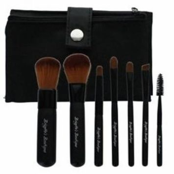 Brigette's Boutique Synthetic 7 pc Travel Brush Kit