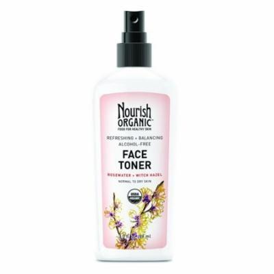 Nourish Organic Refreshing And Balancing Face Toner, 3 Oz