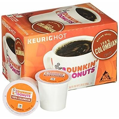 Dunkin' Donuts K Cups - 100% Columbian 10 ct - ( Pack of 3 )