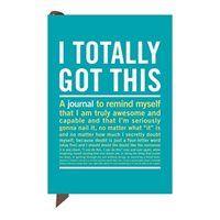 """Knock Knock I Totally Got This Mini Inner-truth Journal, 4"""" X 5.75"""" (50154)"""